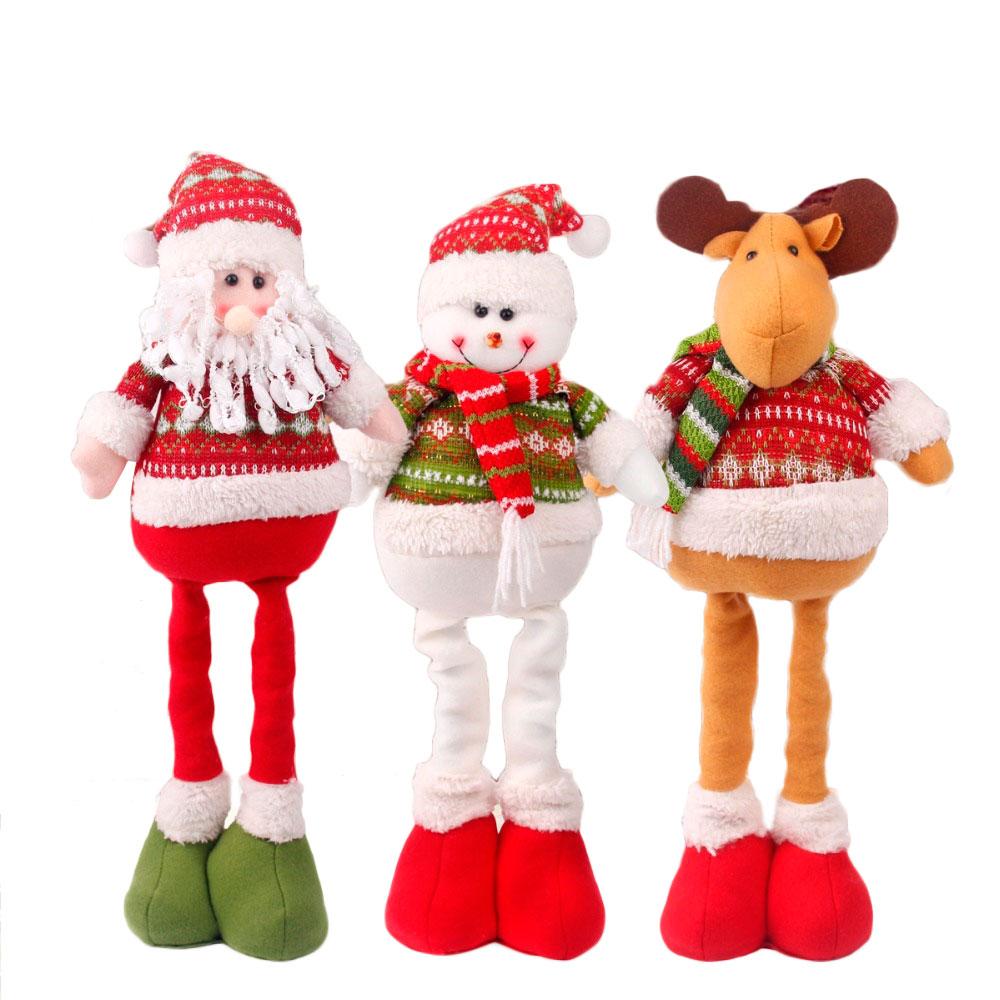 Decorazioni Natalizie Low Cost wholesale santa snowman figurines - buy cheap in bulk from
