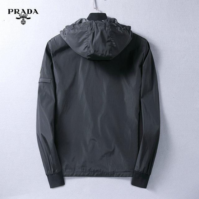 De Hombres 2019 Otoño hombre bordado de la juventud de la chaqueta del collar del soporte de marea floja Escudo masculina perfecta calidad Ffds90
