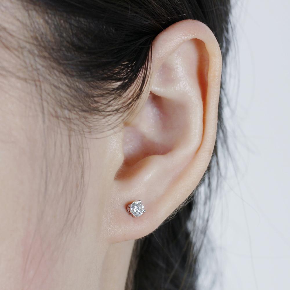 moissanite earring stud (7)