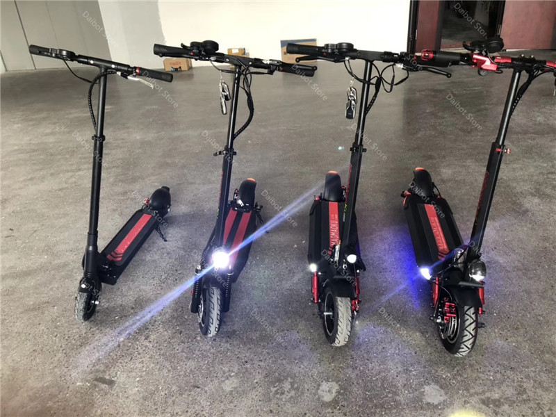 Double Drive Electric Scooter Off Road 2 Wheels Electric Scooters 10 Inch 48V 1200W 45KMH Folding Kick Scooter For Adult (22)