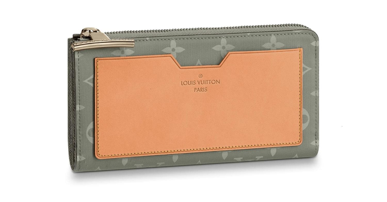 /  18 show laser titanium Cosmos wallet / wallet M63237