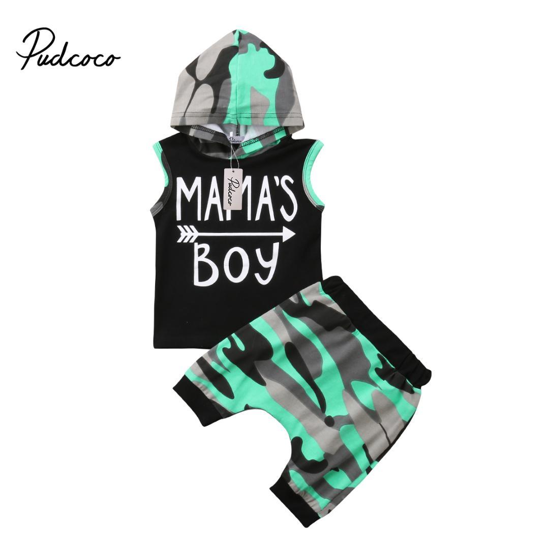 Kleinkind Baby Jungen Kinder Sommer Kleidung Hoodie T Shirt Top Lang Hose Sets