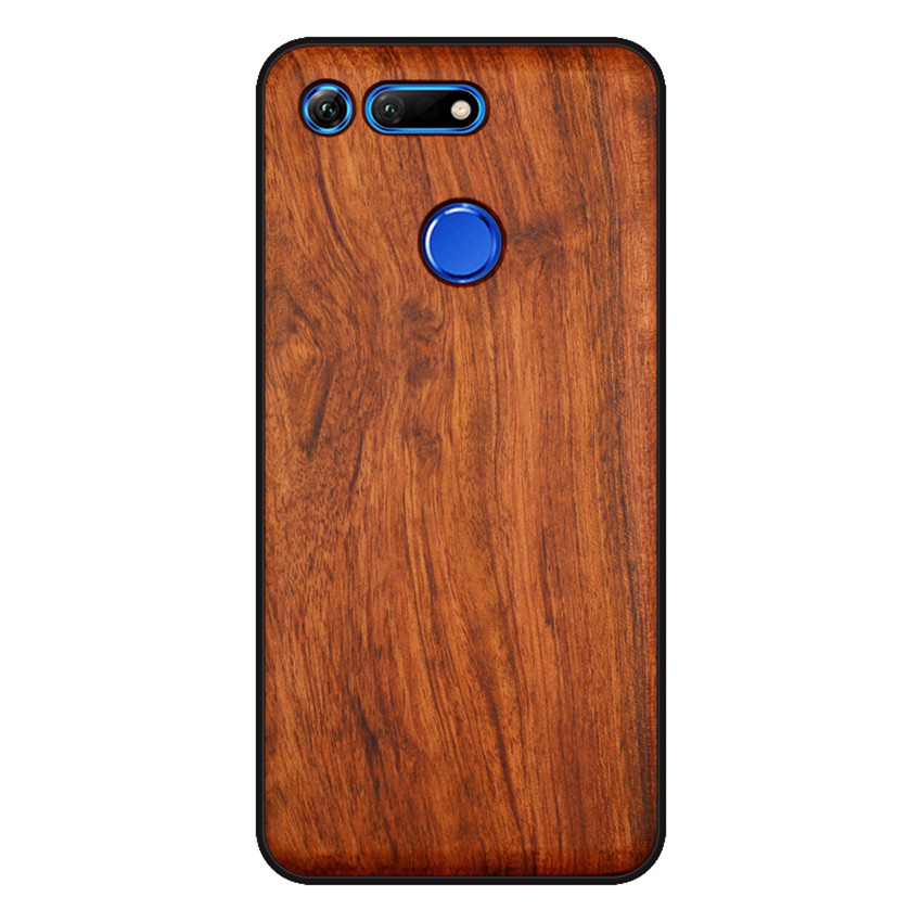 BOOGIC Original Wood Phone Case For Huawei Honor View 20 V20 V10 Wood +TPU Cover For Honor 8x Play 10 Ultra-Thin Wooden Coque (4)