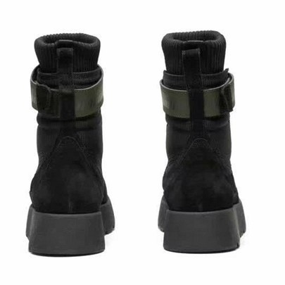Chic Women Print Canvas Over-the-knee Pointed Toe Designer Lady Leather Trim Knot Thigh-High Rubber Sole Boots