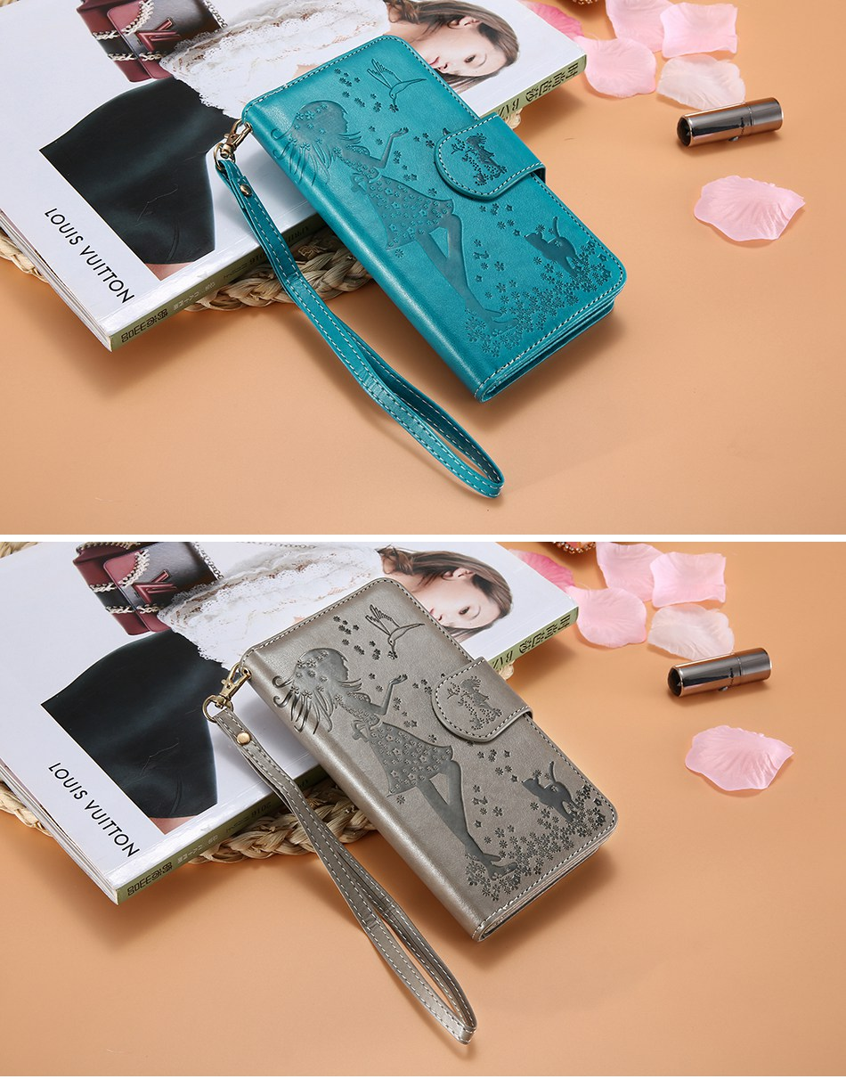 Leather Wallet Case For iPhone 7 6 6S Plus 5 5S SE Phone Cases (12)