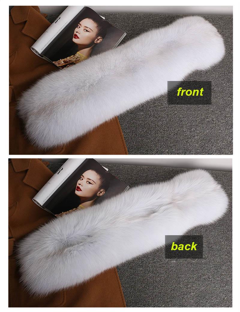 fox fur scarf silver fox 10