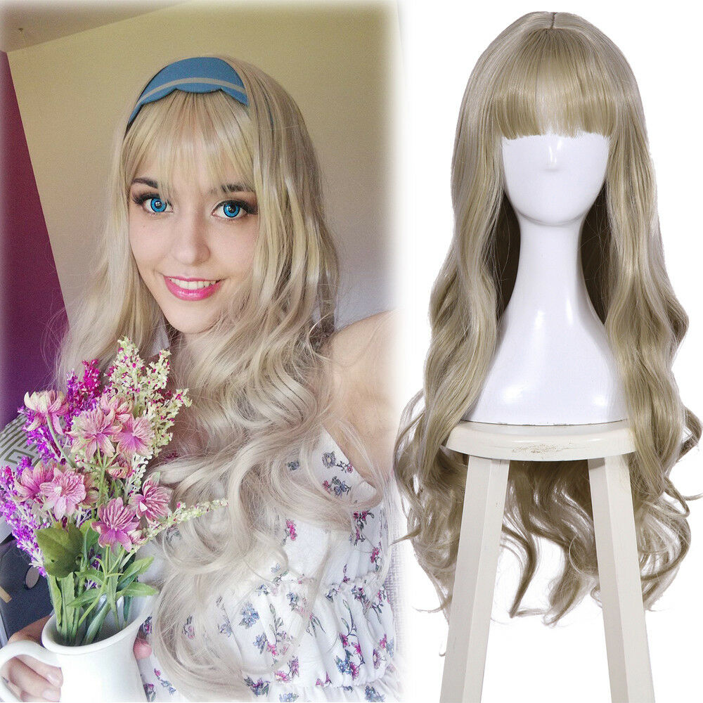 1 Pcs Doll Head Fashion Flaxen Short Hair Students Head Wigs For s Doll JB