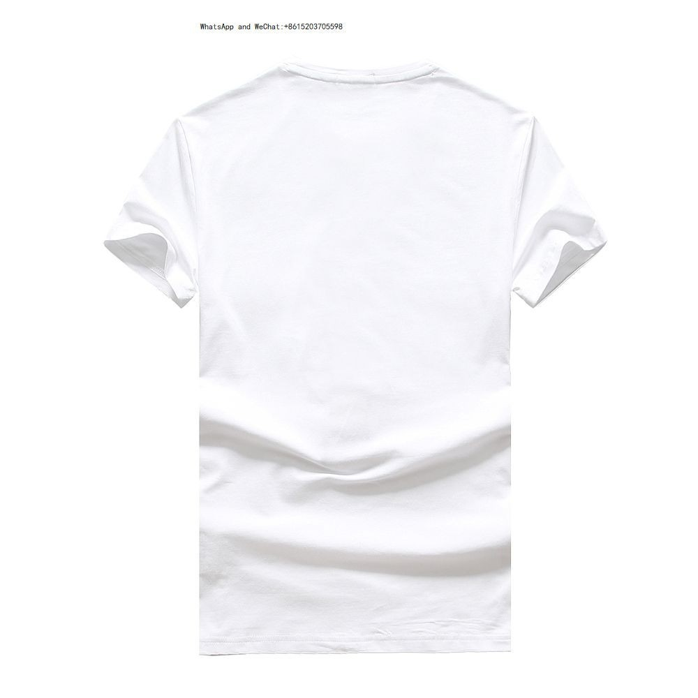 2019 New Pattern Fashion Tide Men's Wear Authentic Short Sleeve Casual T shirts for men T-shirt Man Pure 0308