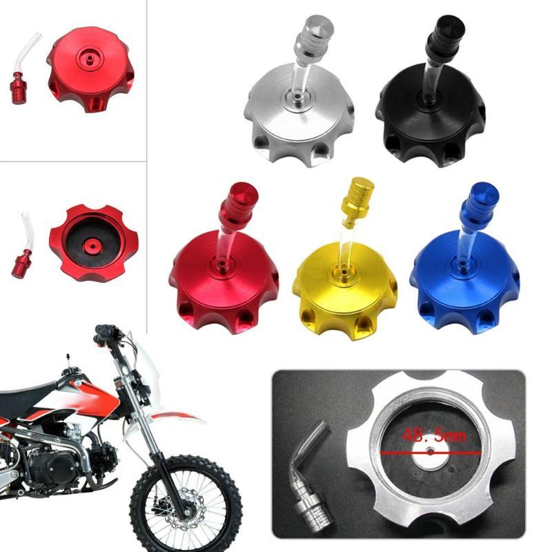 GOOFIT Respiradero del respiradero del tanque de gas de la manguera de combustible para el paquete ATV de la bici de la suciedad de la motocicleta de 10 Plata