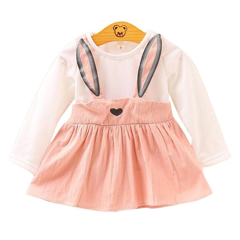 Baby Girls School Dresses Kid Girl Striped Print Causal Short Sleeve Flouncing Princess Dress