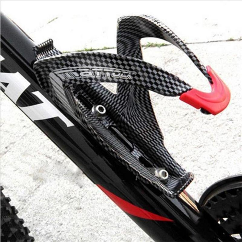 Cycle Zone Water Bottle Holder Carbon Fiber Road Bicycle Bike Cycling Glass Drink Water Bottle Holder