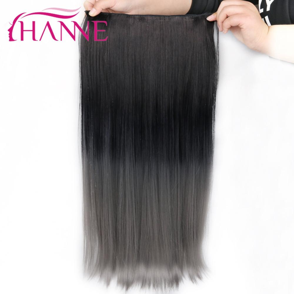 grey clip in hair straight06 (2)