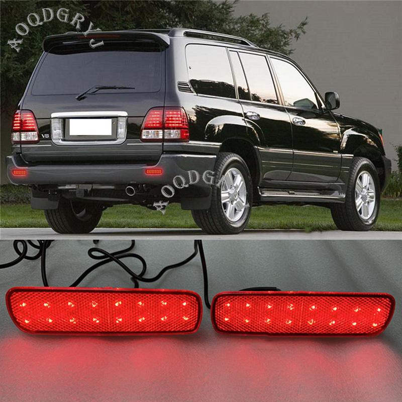 High Mount Third Brake Lights For Toyota Land Cruiser LC Lexus LX470 1998-2007