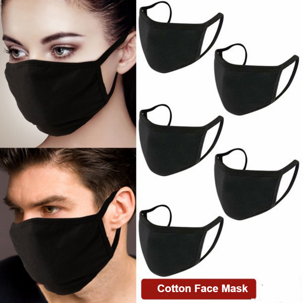 Anti-Dust Masks Cotton Mask Mouth Face Mask Unisex Man Woman for Cycling Camping Travel,100% Cotton Washable Reusable Cloth Masks