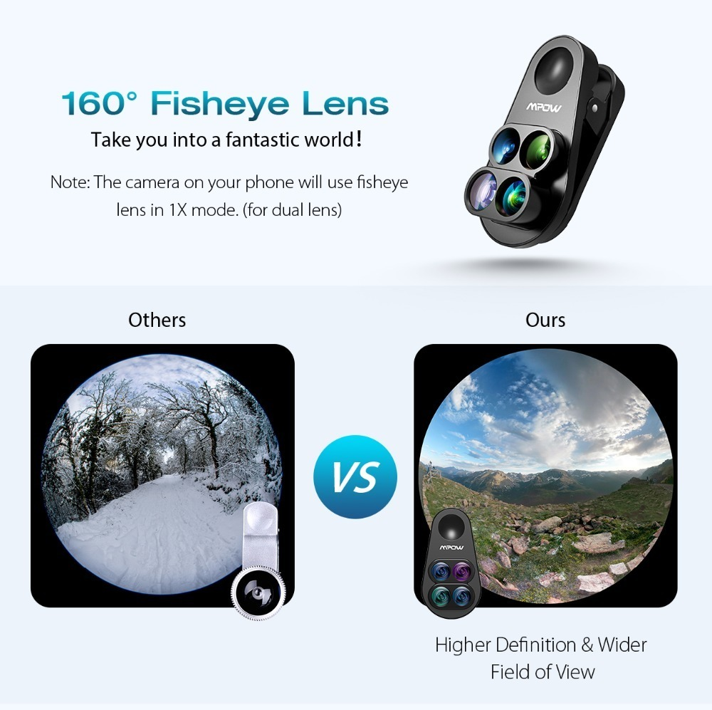 Mpow PA105 Phone Lens for iphone (2)