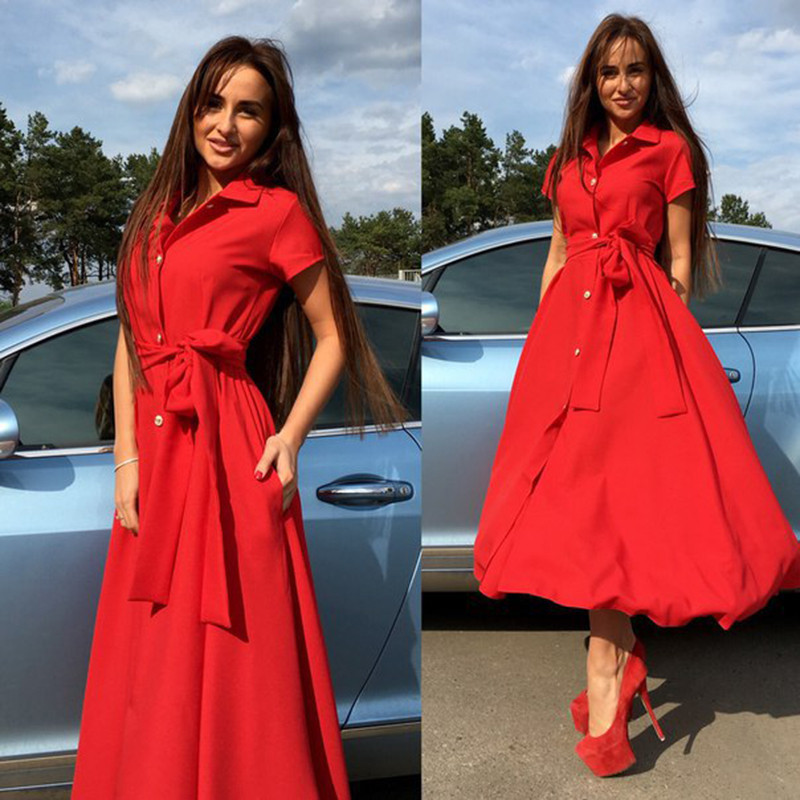 Aoteman 2018 Sexy Autumn Winter Women Dress Fashion Elegant Solid A-line Ladies Dresses Vintage Casual Long Party Dress Vestidos T190409