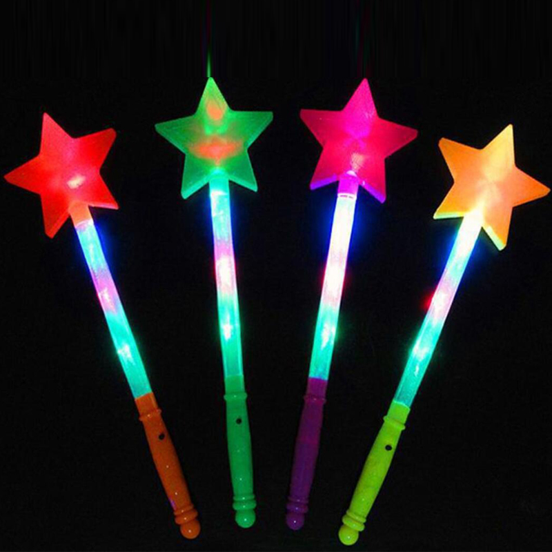 Led Sticks Star Love Heart Projection Glow Stick Light-Up Wands Festival Wedding Party Christmas New Year Led Party Supplies (2)