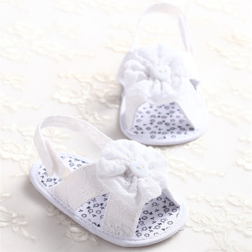 Summer Baby Girl Sandals Toddler Baby Flower Princess Cotton Fabric Sandals Girls Kid Shoes NDA84L25 (2)
