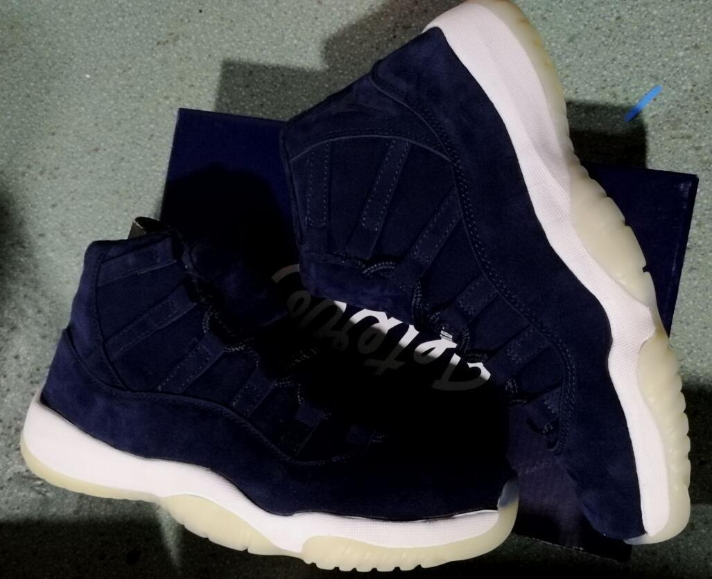 Re2pect 11s Best Quality PRM Derek JETER 11 SD Jeter Re2pect Wholesale Basketball Shoes With Box Men size
