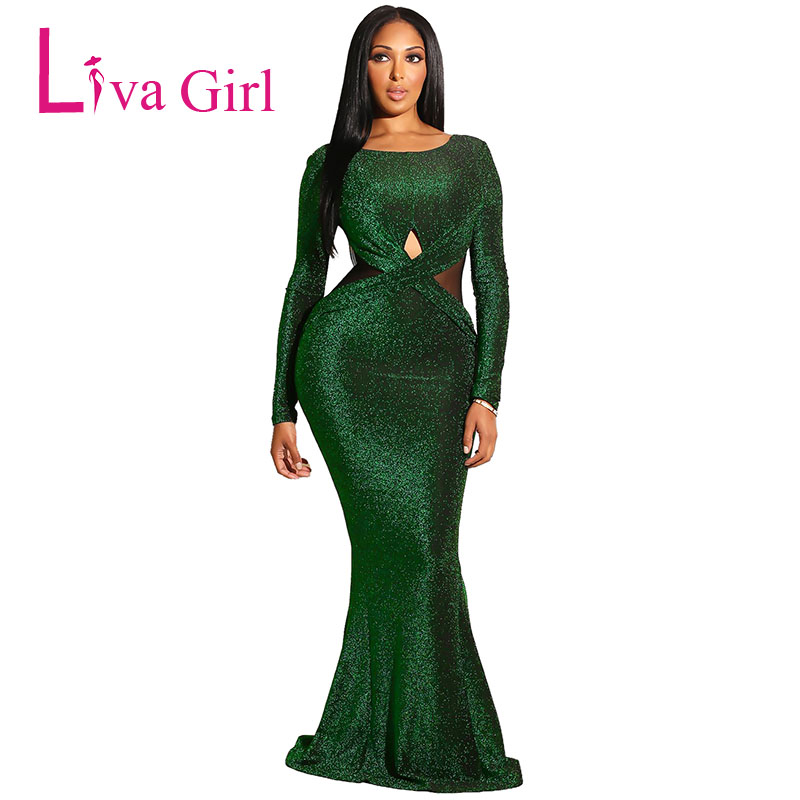 Emerald-Sexy-Long-Sleeves-Maxi-Bodycon-Evening-Gown-Dress-LC610985-9-1
