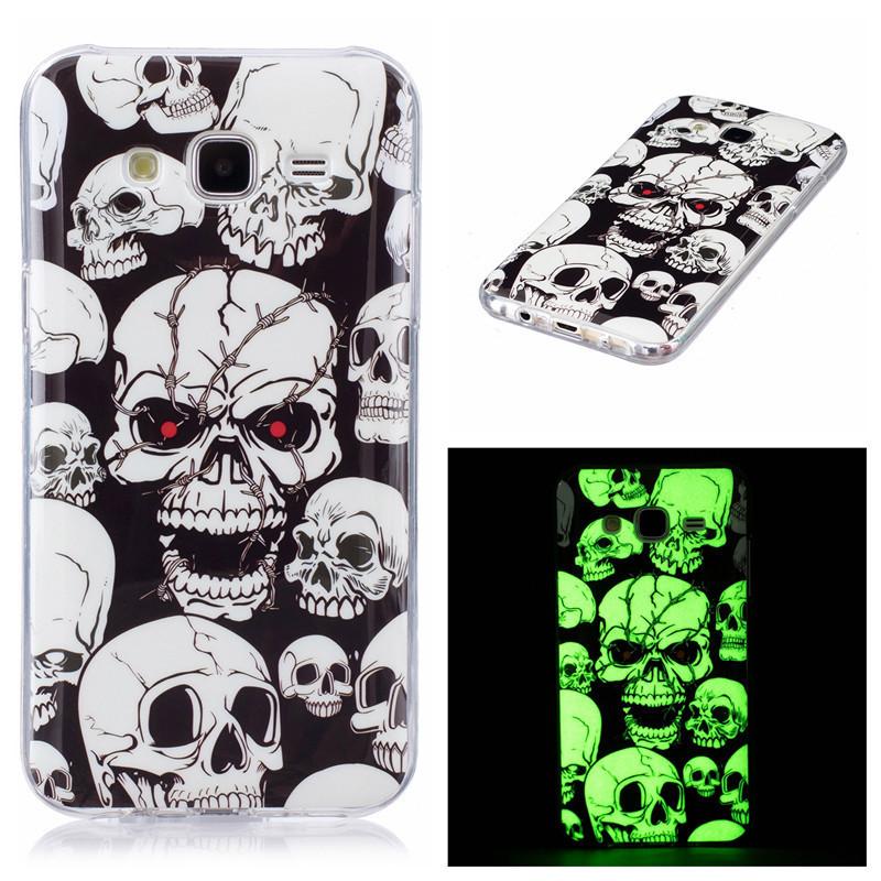 Cas de téléphone portable de bande dessinée pour Samsung Galaxy S6 S7 Edge S8 Plus S5 Neo Note8 Grand J3 J5 J7 Prime Pro A3 A5 A8 Duos Couverture