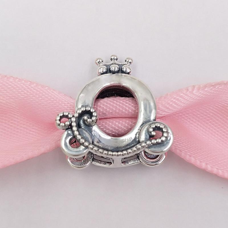 Nuevo Plata Esterlina Royal Crown pulsera con dijes de la marca europea se ajusta