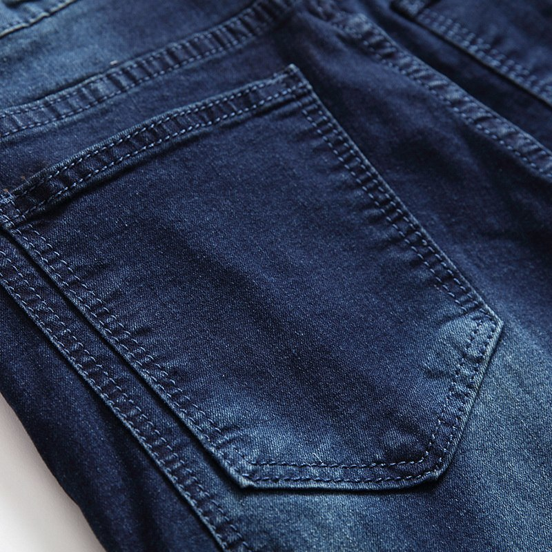 Wenyujh Streetwear Men Ripped Biker Jeans Homme 2018 New Mens Fashion Motorcycle Slim Fit Moto Denim Pants Joggers Skinny Pants Y190509