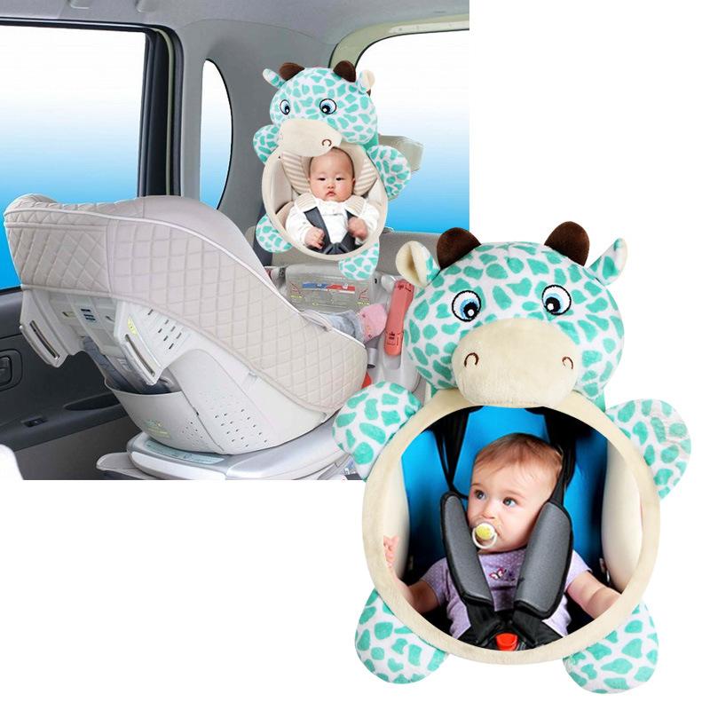 SEDILE posteriore auto GRANDE ampia vista la sicurezza del bambino sedile SPECCHIO poggiatesta Mount