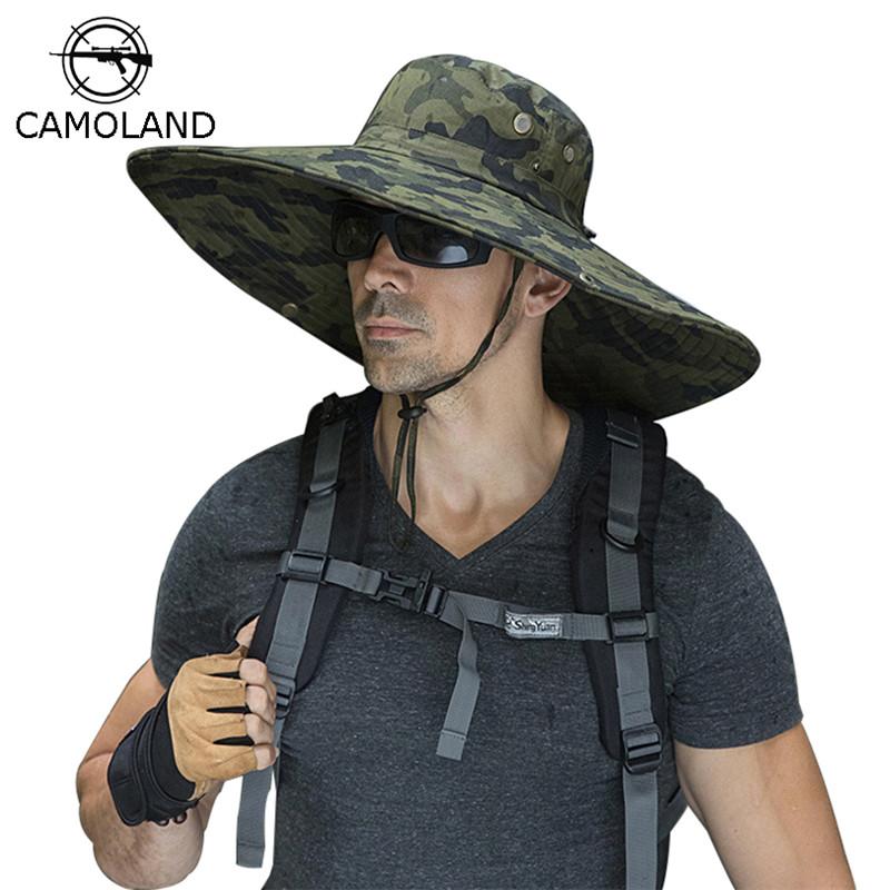 Hat Cap Boonie Snap Brim Military Bucket Wide Brim Sun Beach Fishing Hiking