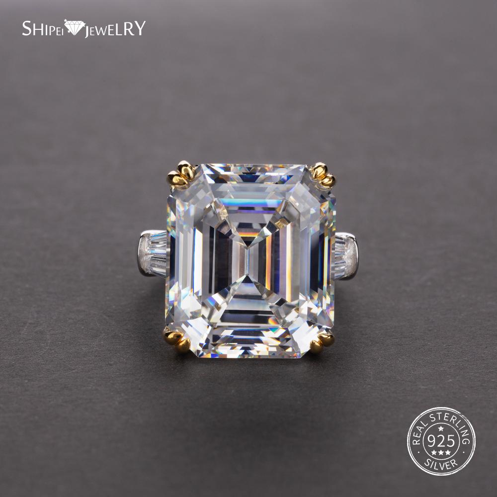 Femmes Superbe Charms Diamond Cut blanc saphir argent clous d/'oreilles