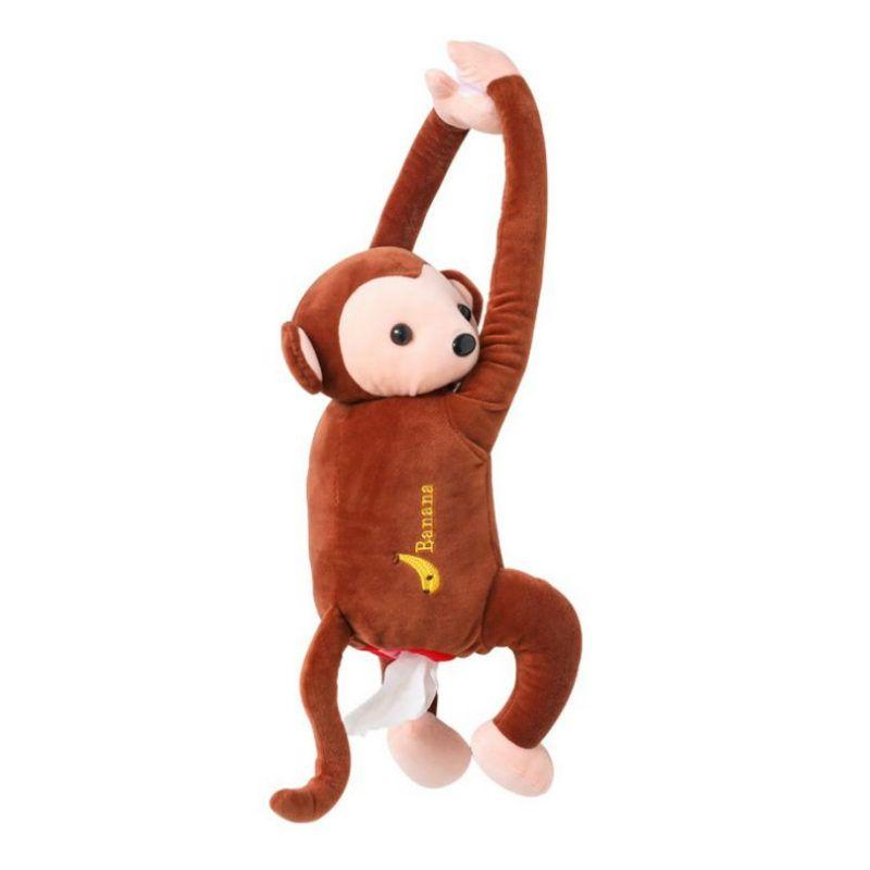 Hängend Affe Tissue Holder Box Cover niedlichen Auto Cartoon Tier Zuhause Dekor