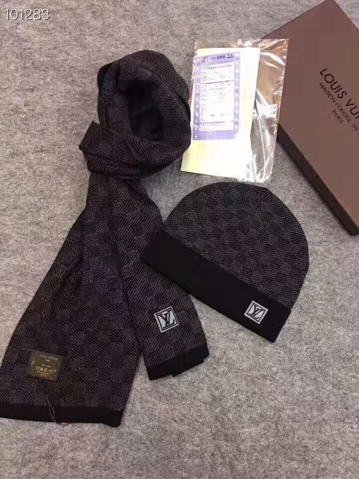 Evrfelan Set sciarpa berretto guanti Touchscreen uomo donna unisex