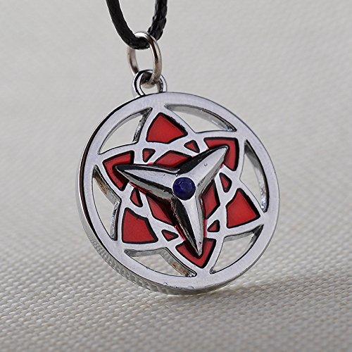 Kakashi Uchiha Sasuke Itachi Gaara Cosplay Sharingan Pendants Necklace Girl & boy's Gifts