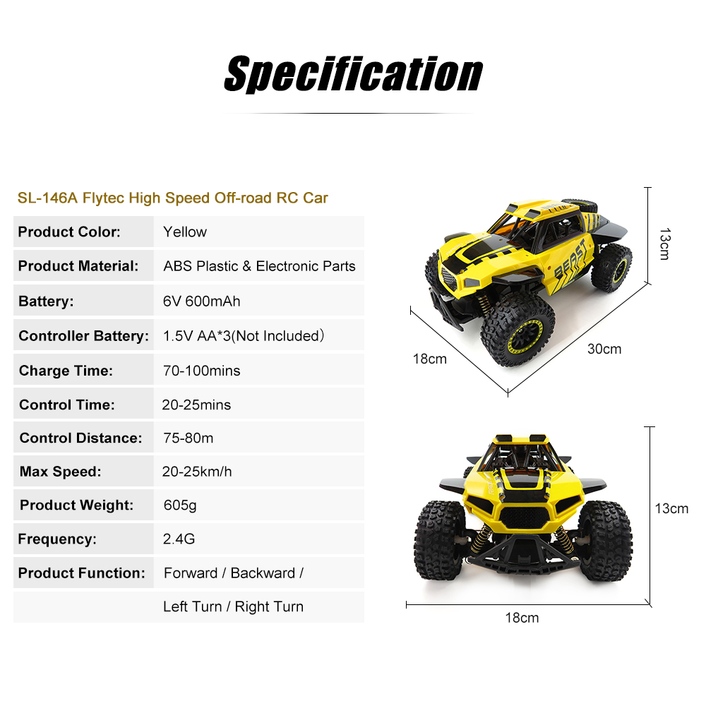 SL-146A-Flytec-Yellow-High-Speed-Off-road-RC-Car_02(1)