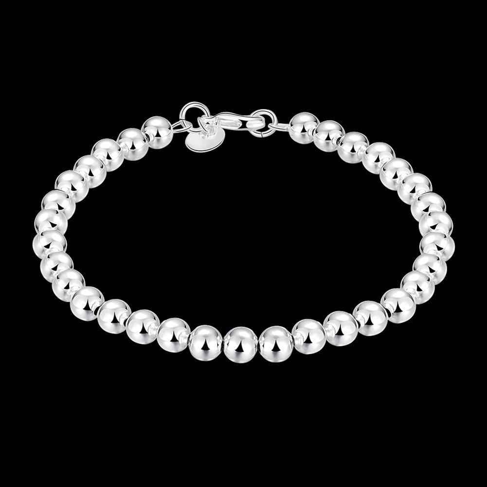 New LKNSPCH114 Women Atmosphere Fashion Romance Silver Plated Beads Bracelet Jewelry Fashion Women Beads
