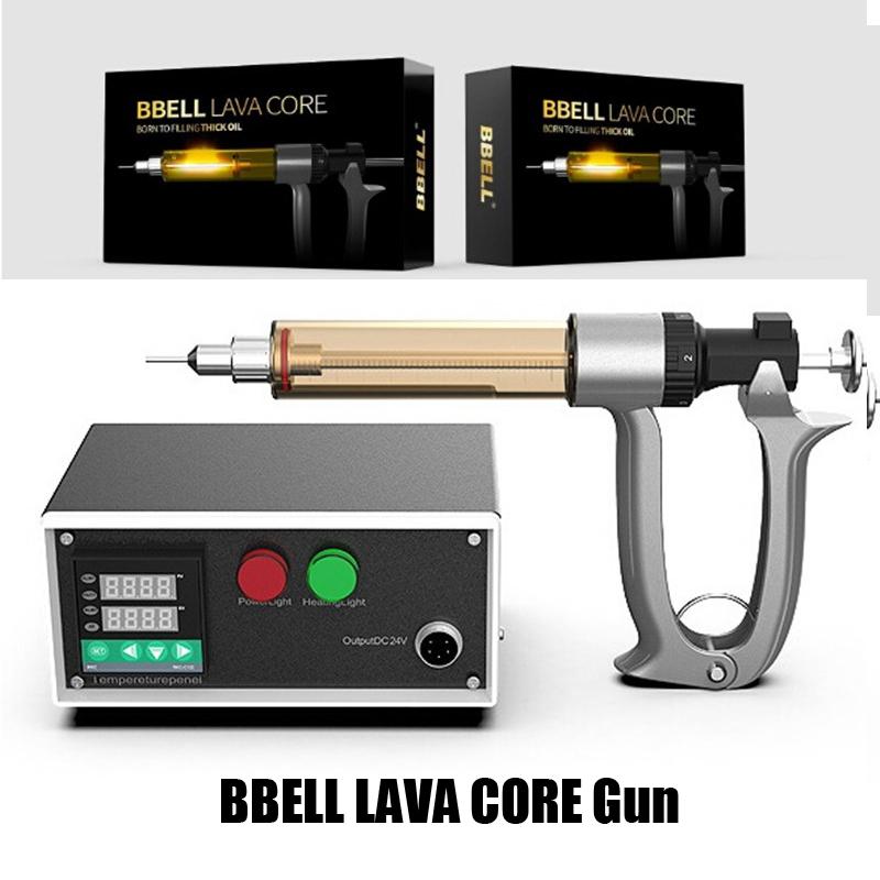 Authentic BBELL Lava Core Filling Gun Machine Thick Oil Semi Automatic Vape Filler 25ml 50ml Device 510 Thread Pen Carts Cartridge 100% Origianl