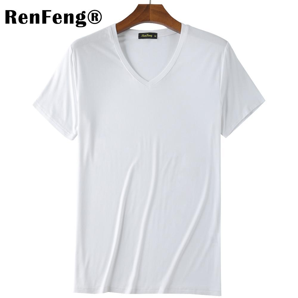 2018 Summer Brand Men's Short-sleeved Cotton skinny T-shirt Shirt Solid Casual O-Neck Male Tops & Tees Plus Size Under Shirt (10)