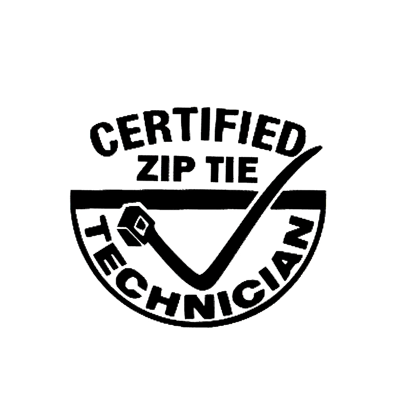 Zip tie technician Sticker Decal JDM Custom Racing Drift