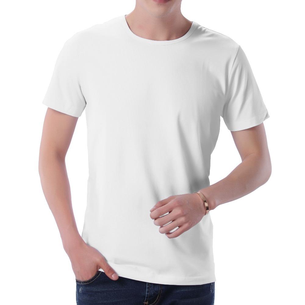 Fashion 2018 New Cool T-shirt Men Blank Tshirt Under shirt Tee Shirt Homme Short Sleeve Summer Tops Tees T shirt Male M-3XL (4)