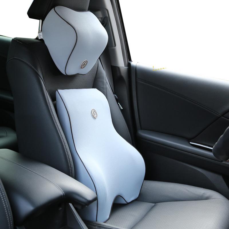 Cojín reposacabezas de asiento de coche de descanso Resto Almohada Cuello Almohada Accesorios de viaje 2 un