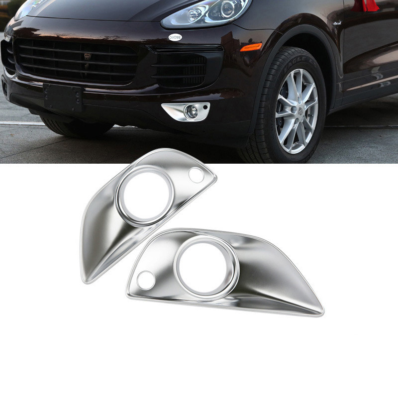 Für Mazda CX3 2016-2019 Chrom Frontscheinwerfer Streifen Licht Abdeckung