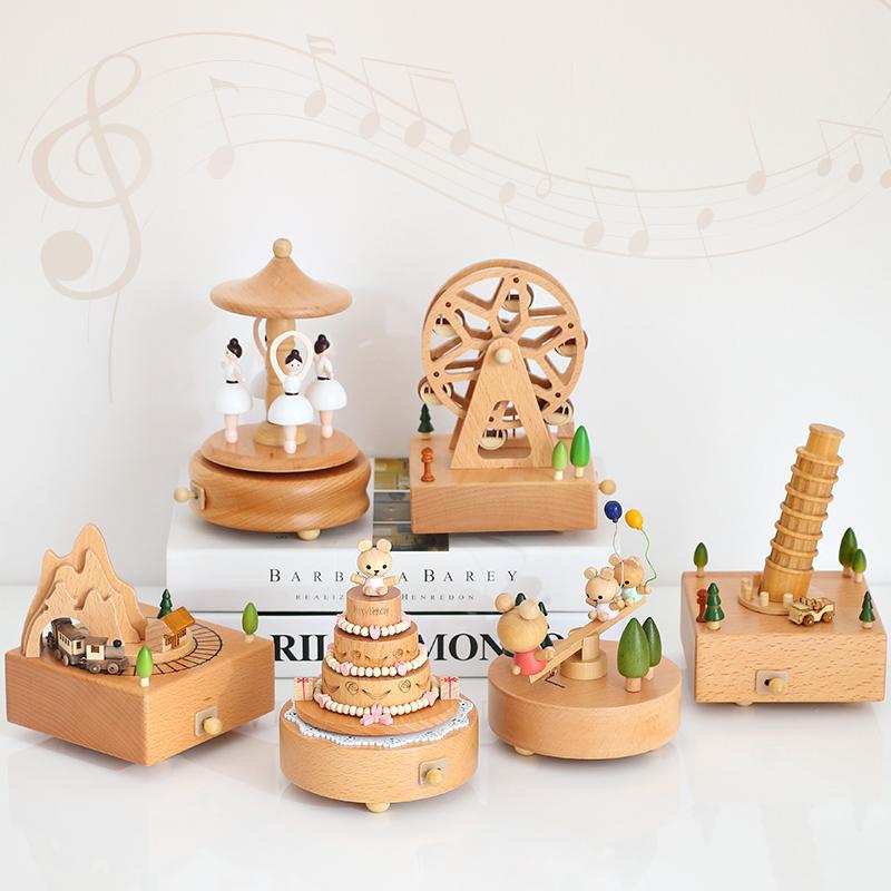 1pc Retr/ò Contenitore Di Musiche Depoca Macchina Da Cucire Carillon a Forma Di Mini Cucire Modello Di Macchina Creativa Regalo Di Compleanno Scrivania Decorazione