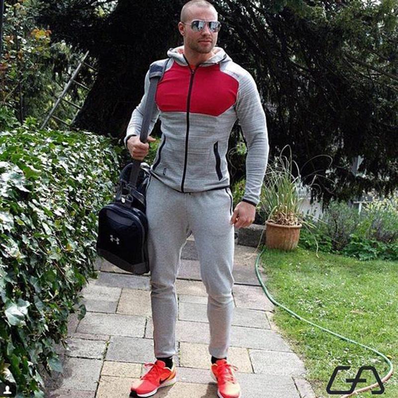 2018-Men-s-Sportswear-Trainingspak-Mannenr-2-Piece-Set-Sporting-Suit-Jacket-Pant-Sweatsuit-Men (2)