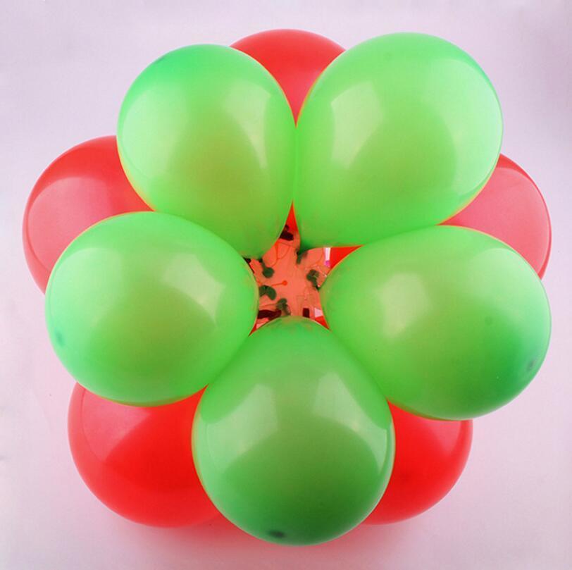 5 In 1 Balloon Modelling Seal Clip Balloon Sticks Plum Flower Tie Latex Balloon Sealing Clips Wedding Party Decoration Supplies