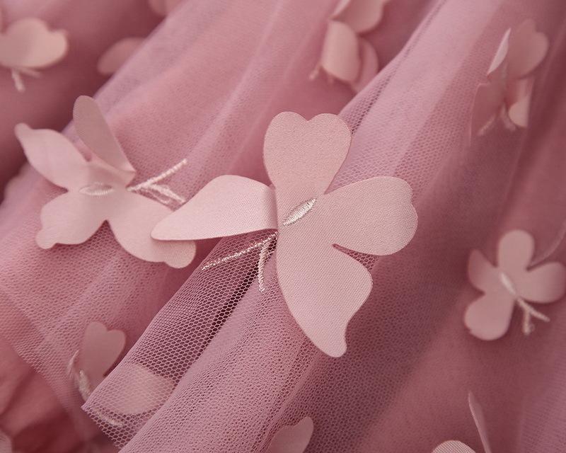 1-5-Butterfly Girl Dress