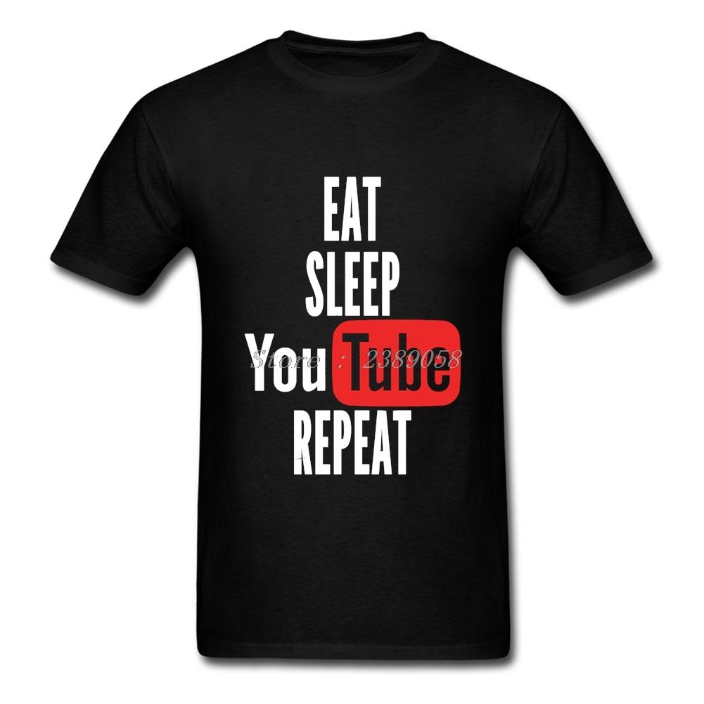 Eat sleep jeu répéter drôle 100/% coton t shirt