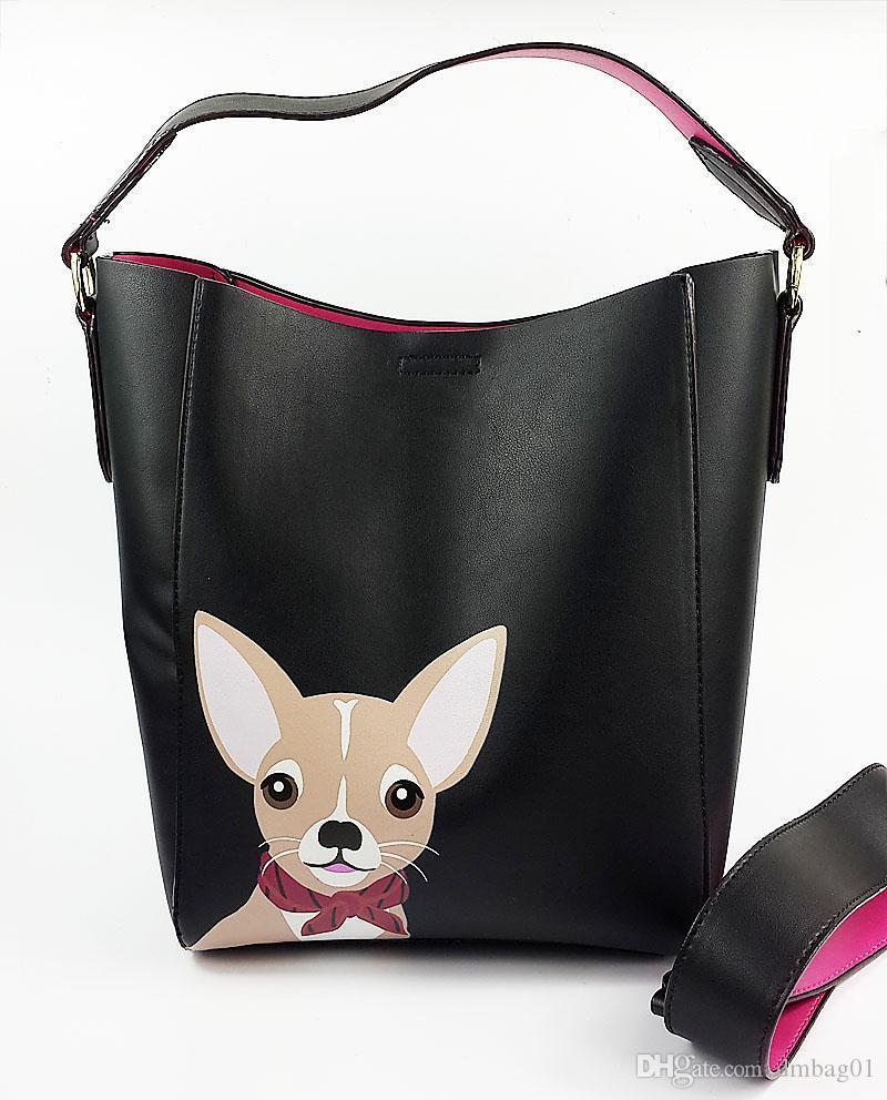 Pink Sugao Designer Bags For Women KbrandS Luxury Handbags Pu Leather Cartoon Women Shoulder Famous Brand Purses Tote Bag Drawstring