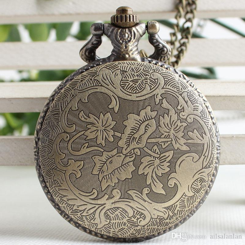 Canada Bird Quartz Pocket Watch for Men Women Gift Necklace pendant watch