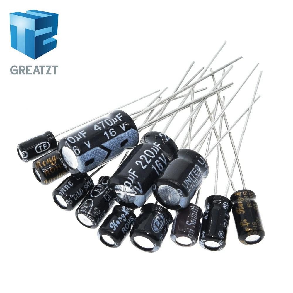 5 pieces 450V 82UF Aluminum Electrolytic Capacitors Assortment Kit 40x16mm