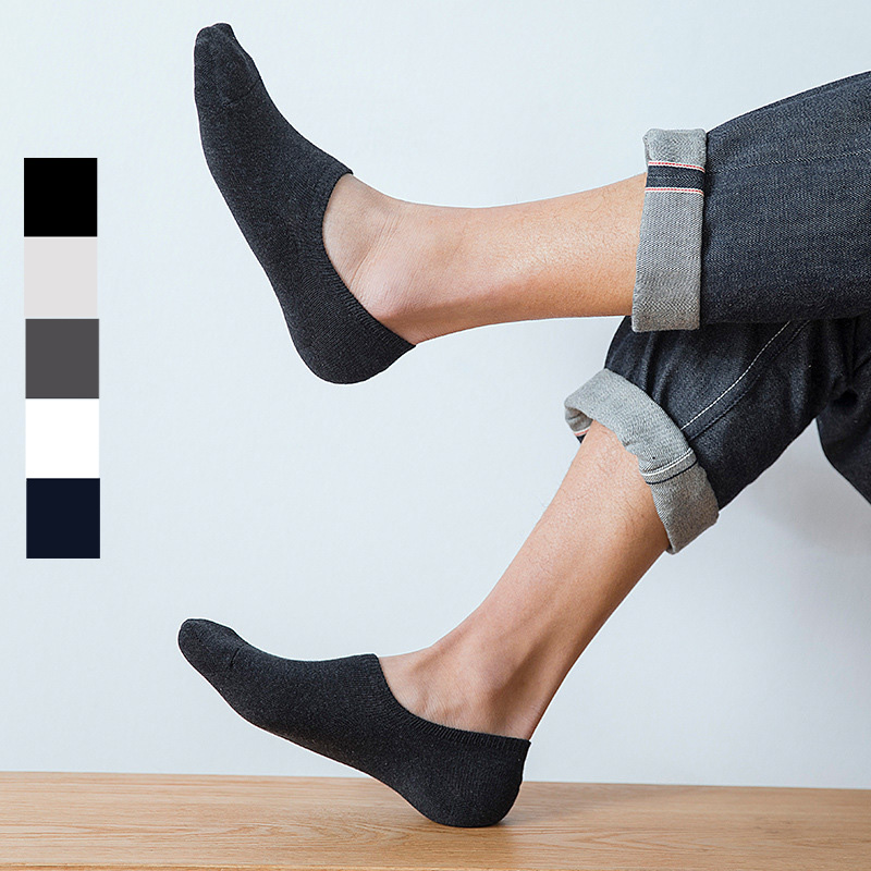 6 o 3 PAIA Low Cut Calzini Alla Caviglia invisibili antiscivolo Athletic No Show per gli uomini